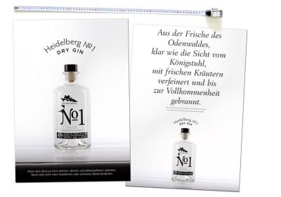 Heidelberger No.1 Dry Gin Plakatkampagne